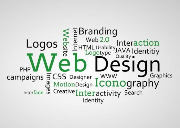 group-of-green-web-design-terms